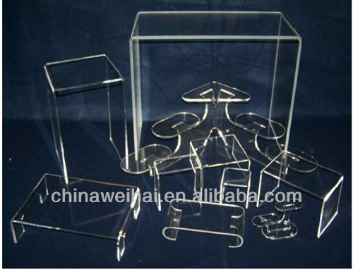 Clear Acrylic Rotating Electric Drill Display Stand
