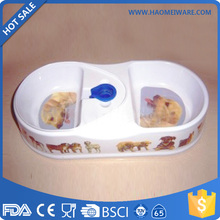 factory price wholesale plastic twin pet bowl made in China