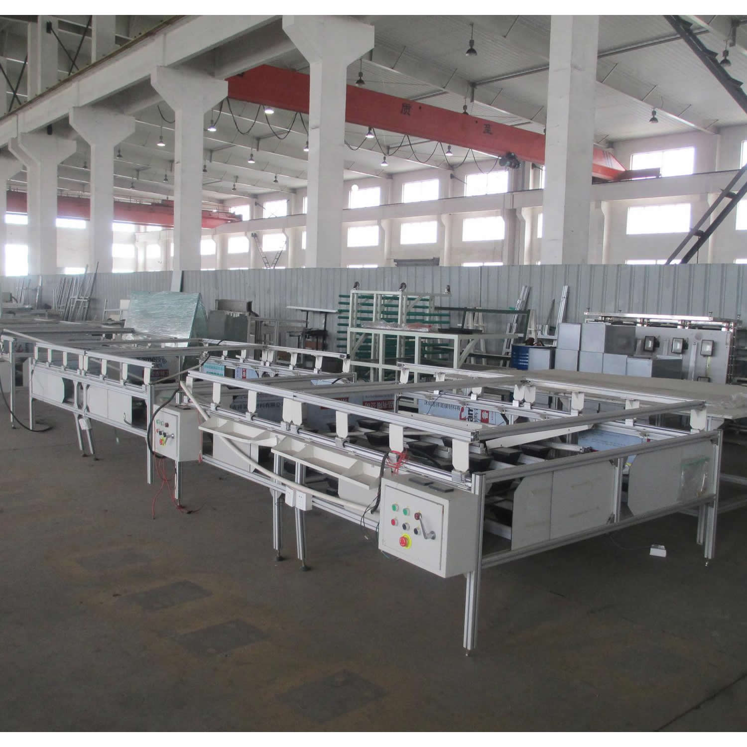 Time control convenient and safe paper laminating machine