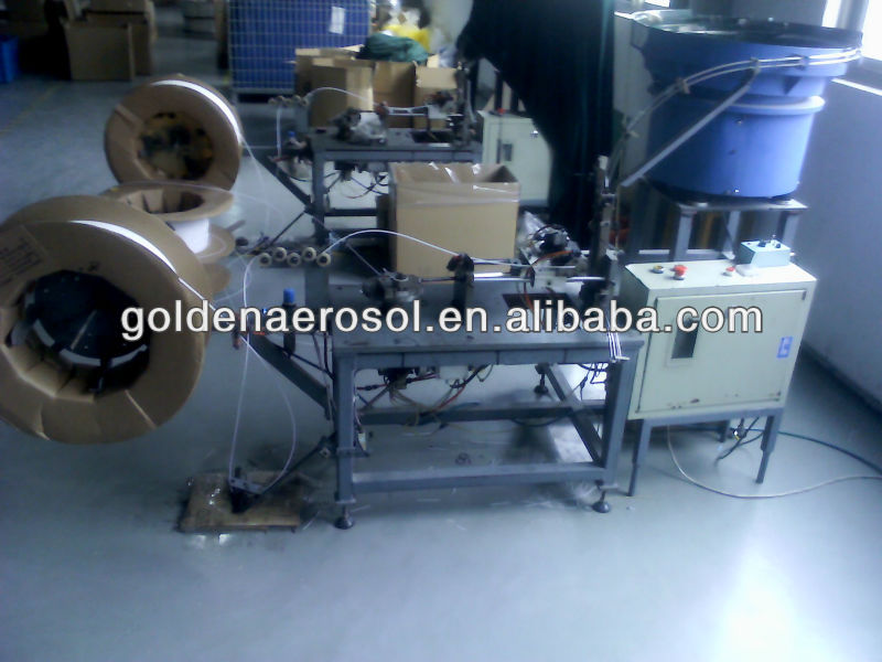 Valve and dip tube Assembling Machine