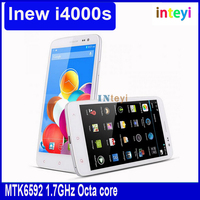 Cheap iNew I4000S MTK6592 1.7GHz Octa core Android 4.2 5.0 inch FHD OGS IPS 13MP HD Camera RAM 2G ROM 16G UMTS/3G