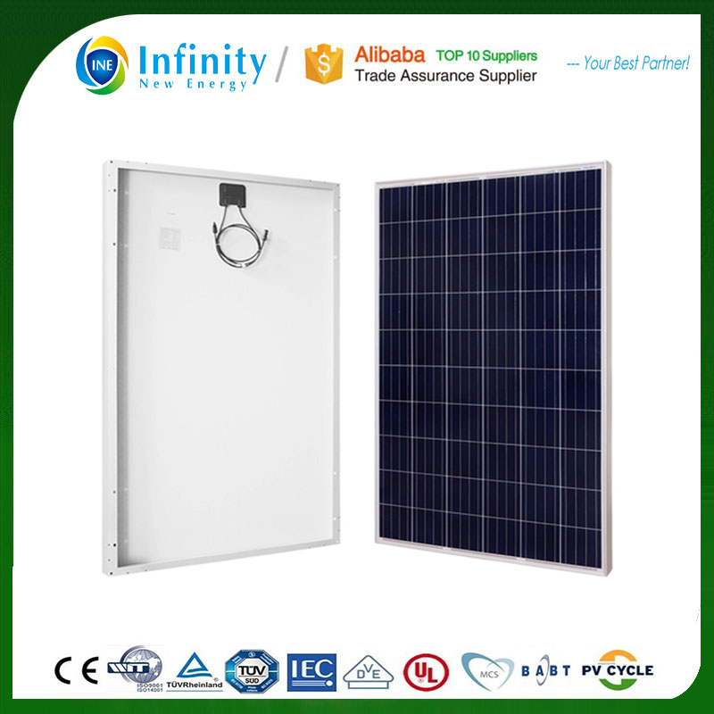 25 Years Warranty top quality mono solar panels 250w 260w 265w with good price
