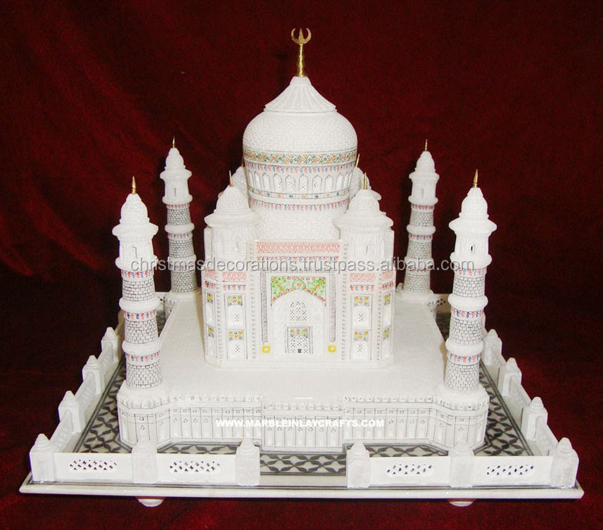 Indian Taj Mahal Showpiece, High Quality Taj Mahal Souvenir Gift