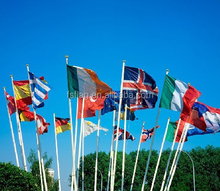all kind of world national flags all countries on stock