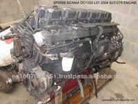 Used Scania Truck Engines and Gearbox