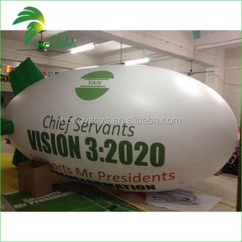 Hot Popular Newest Inflatable Blimp Custom Made Airship Shape Balloon