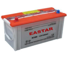 12v 100ah dry charged automotive battery types