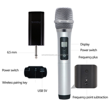 Factory UHF High Power Wireless Microphone