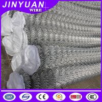 iron wire woven mesh Fence Panel garden sports defence Used Chain Link Fence/mesh galvanized/PVC-coated Price
