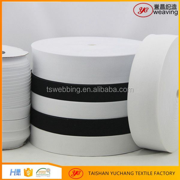 good quality knitted custom printed elastic ribbon