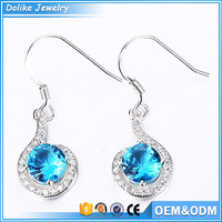 Gemstone jewelry earrings,wholesale chandelier earrings