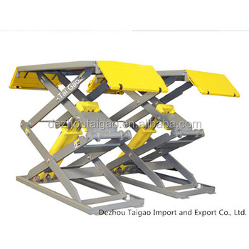 Good quality and low price low rise hydraulic scissor lift