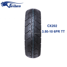 Cheap Import Competitive Price Motorcycle Tyre 3.50-10 CX202
