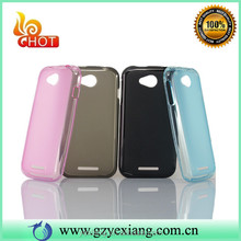 Wholesale Clear Back Cover For Lenovo A706 Soft TPU Case