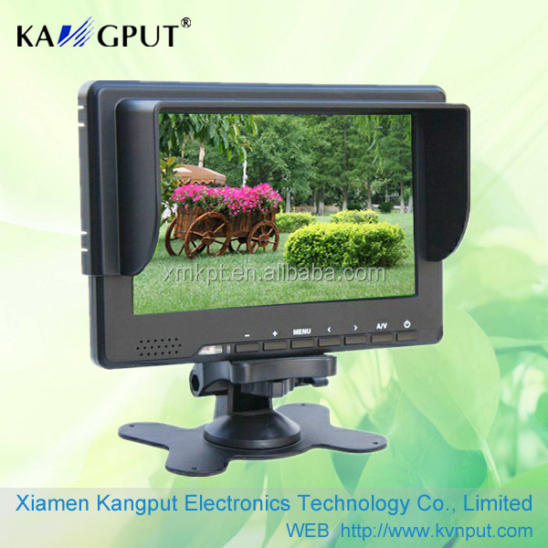 7inch LCD CCTV <strong>Monitor</strong> with DHM DVI (optional:HD-SDI input)