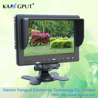 7inch LCD CCTV Monitor with DHM DVI (optional:HD-SDI input)