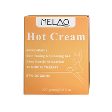 Hot slimming cream fat burn gel slimming cream hot slim heating cream manufacturer