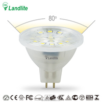 MR 16 Led Lighting Lamp 3000K 4000K 3.5W Landlite Led Light Bulb