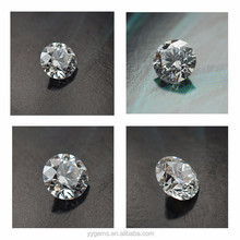 loose stone moissanite 1-20mm round pear cut forever one E F color man made diamonds customized10 carat engagement rings