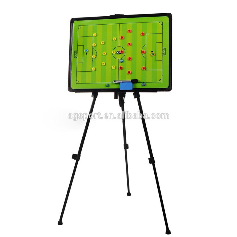 Scaffolding football tactics board, foldable soccer tactics board