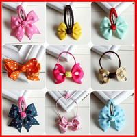 factory price custom design printed ribbon hair accessory, head rope with elastic