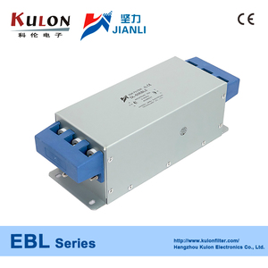 65EBL1/65EBL5 65A 3 phase power line filter for UPS AC and DC inverter