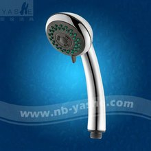 Top Chinese Seller ABS Chromed Shower Head Bathroom Accessories High Pressure Hand Shower CiXi Factory EYS 3611