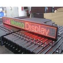 Scrolling usb led speed display sign