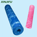 Thick High Density Deluxe Non Slip Exercise Pilates & Yoga Mat Mixed colors TPE yoga mat in Gymnastics