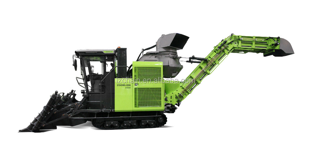 SUGARCANE KING cut type sugarcane combine harvester