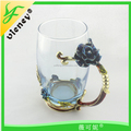 The European and American style glass / high - grade coffee glass for gifts