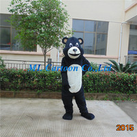 popular black bear cartoon costume chinese new year mascot costumes