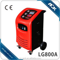 Auto Refrigerant recovery and recharge machine with cleaning