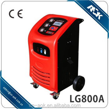 auto a c recovery recharge machine