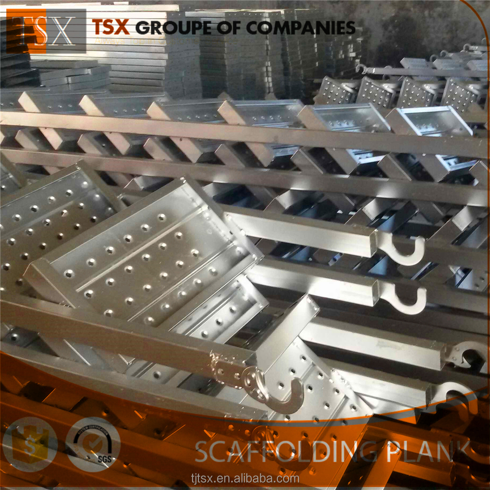 TSX-MP2263 safety walk board steel used scaffolding boards for sale, wholesale scaffolding planks