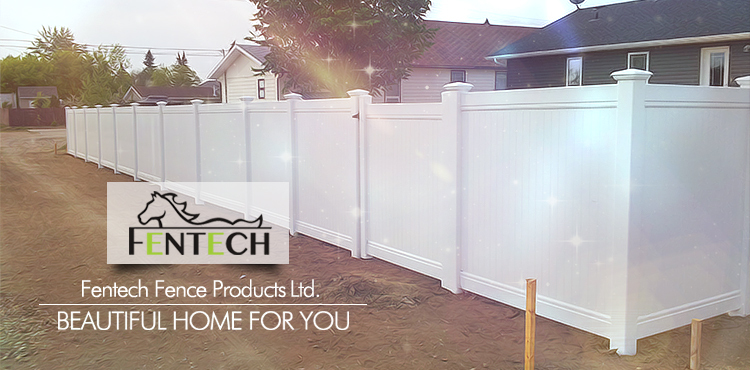 Popular Design UV Proof Plastic/Vinyl/PVC Backyard Privacy Fence
