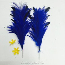 HOT party lady fascinator hair accessory clip brooch feather wedding
