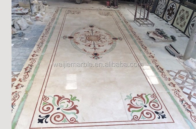Premium hotel lobby luxury marble floor tile designs