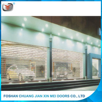 Hot sale polycarbonate plastic Rolling Shutter Window