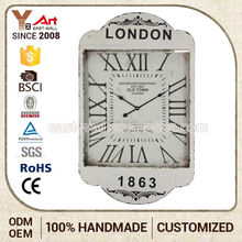 Best Choice Custom Logo Art Work Craft Antique Swing Clock