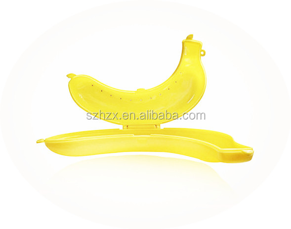 bulk plastic banana case /apple shape candy box