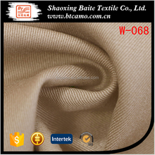 Yarn dyed woven wool polyester fabric for suiting W-068