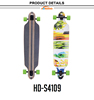 Canadian Maple Long board Street Surfing Free ride skateboard for sale
