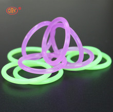 Reach Approved Colored Semitransparent Metric Clear Silicone O-Ring
