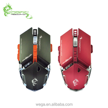OEM good design 9 programmable MMO macro function driver USB professional gaming optical mouse