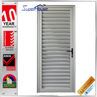Australia standard fixed panel casement aluminium vented exterior door