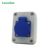 16A 250V IP54 Connector Female Interlocking Socket Outlet Industry Electric Plug Socket Box