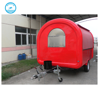 2016 New style Widely used stainless steel mobile fast food carts snack food cart for sale