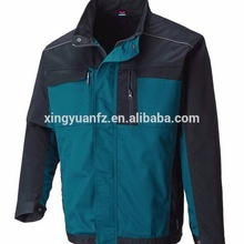 customized polycotton drill Multifunctional pocket good quality work jacket