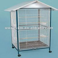 UW-PT-115 large house shape pet cages for parrots